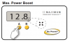 Illustration of Go Power's Max Power Boost set up on solar controller